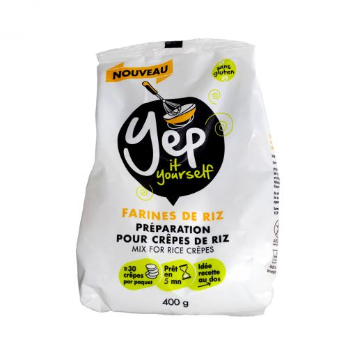 paquet de farine de riz yep face